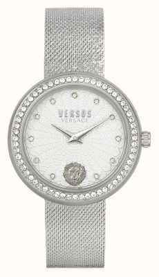 Versus Versace Women's Lea | Stainless Steel | Mesh Bracelet | Silver Dial VSPEN1420