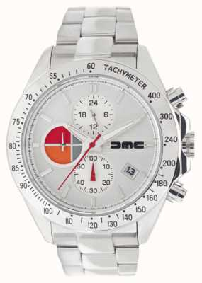 DeLorean Motor Company Watches 1981 Silver Steel | Stainless Steel Bracelet | Silver Dial DMC-9