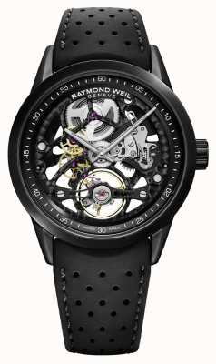 Raymond Weil Freelancer 42mm Skeleton Black Rubber Strap 2785-BKR-20000