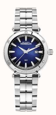 Michel Herbelin Women's Newport | Stainless Steel Bracelet | Blue Dial 14288/B15