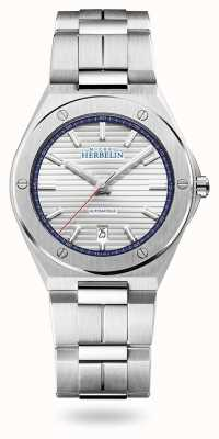 Michel Herbelin Cap Camarat | Automatic | Silver Dial | Stainless Steel Bracelet 1645/B42