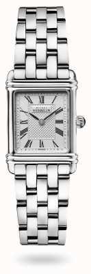 Michel Herbelin Art Déco | Stainless Steel Bracelet | Silver Dial 17478/08B2