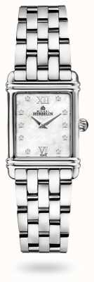 Michel Herbelin Art Déco | Stainless Steel Bracelet | Mother Of Pearl Dial 17478/59B2