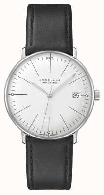 Junghans Max Bill | Kleine | Automatic | Black Leather Strap 27/4105.02