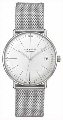 Junghans Max Bill | Kleine | Automatic | Stainless Steel Mesh 27/4106.46