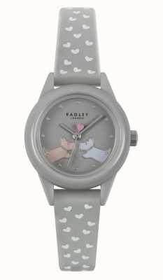Radley Watch It!   Women's Grey Silicone Strap   Grey Dial RY21257