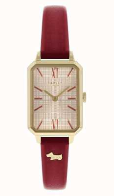 Radley Women's Red Leather Strap | Champagne Dial RY21204