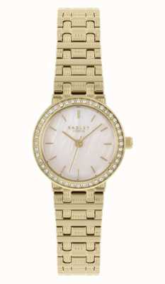 Radley | Women's | Gold Plated Steel Bracelet | Mother Of Pearl Dial | RY4564