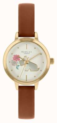 Radley Women's Tan Leather Strap | White Dial RY21238A