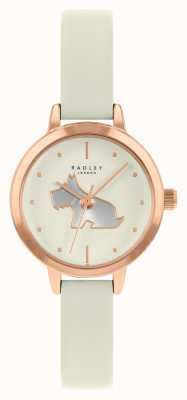 Radley Women's Cream Leather Strap | Cream Dial RY21252A