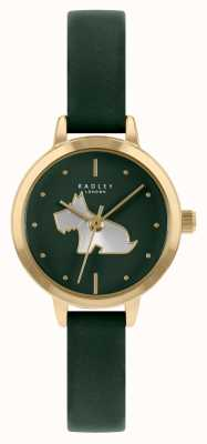 Radley Women's Green Leather Strap   Green Dial RY21256A