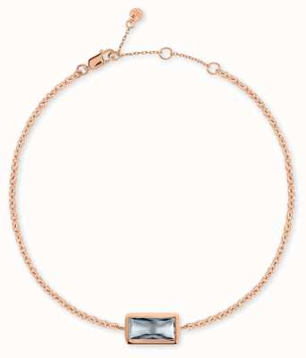 Radley Jewellery Radley Rocks | Rose Gold Plated Bracelet | Grey Stone RYJ3098S-CARD