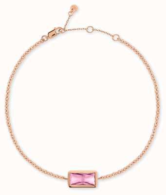 Radley Jewellery Radley Rocks | Rose Gold Plated Bracelet | Pink Stone RYJ3098S-CARD