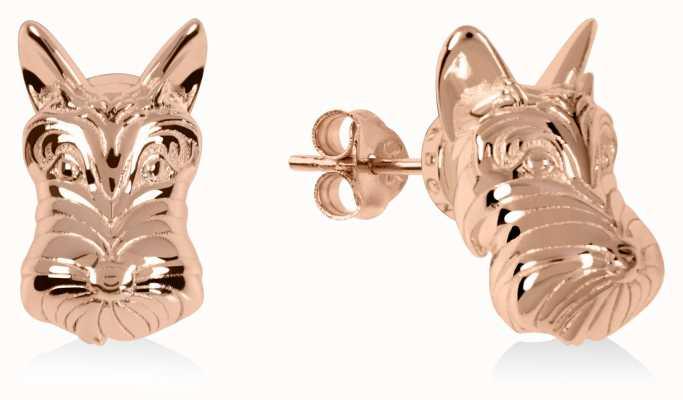 Radley Jewellery Radley & Friends   Rose Gold Plated Scottie Dog Stud Earrings RYJ1172S-CARD