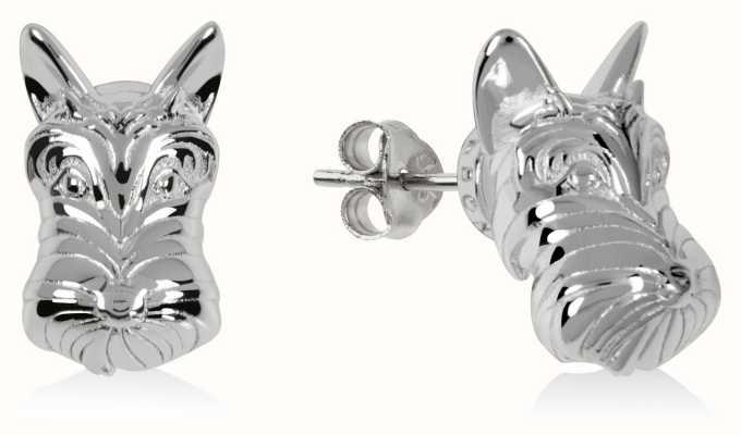 Radley Jewellery Radley & Friends   Sterling Silver Scottie Dog Stud Earrings RYJ1171S-CARD