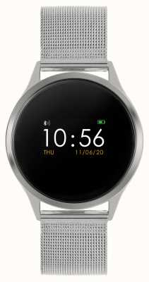 Reflex Active Series 4 Smart Watch   Colour Touch Screen   Stainless Steel Mesh Bracelet RA04-3001