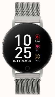 Reflex Active Series 5 Smart Watch   HR Monitor   Colour Touch Screen  steel Mesh RA05-4015