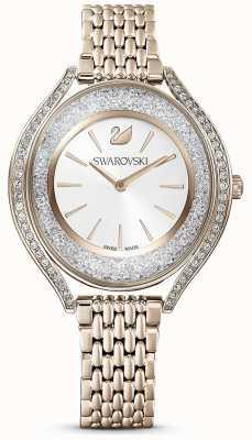 Swarovski Crystalline Aura | Women's Gold Stainless Steel Bracelet | White Dial 5519456
