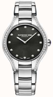 Raymond Weil Noemia | Women's Stainless Steel Bracelet | Diamond Dial 5132-STS-20081