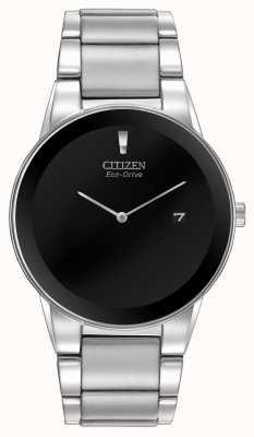 Citizen Men's Eco-Drive Axiom Silver Bracelet AU1060-51E