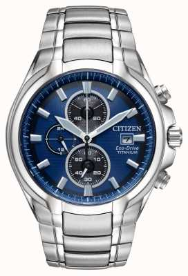 Citizen Men's Eco-Drive Titanium Bracelet CA0700-51L