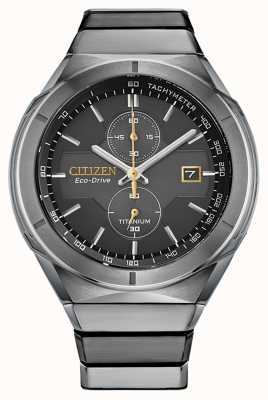 Citizen Men's Eco-Drive Super Titanium Armor CA7058-55E