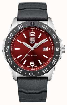 Luminox Pacific Diver   Red Dial   Black Rubber Strap XS.3135
