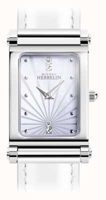 Michel Herbelin Antarès | Stainless Steel Watch Face Only | Roman Numerals H.17048/59