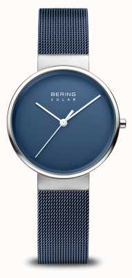 Bering Women's Navy Blue Solar Watch 14331-307