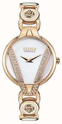 Versus Versace | Saint Germain Petite | Crystal Set | Gold Bracelet | VSP1J0221