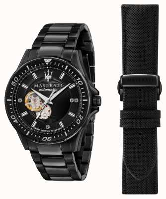 Maserati SFIDA Diamonds Black Plated Watch R8823140005