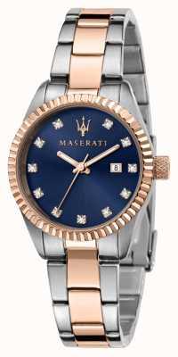 Maserati Woman's Competizione Dual Tone Watch R8853100507