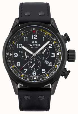 TW Steel Swiss Volante Black PVD Plated Stainless Steel SVS205