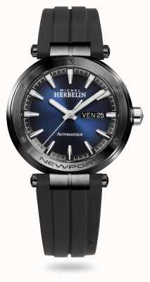 Michel Herbelin Newport Automatic Black Silicone Strap 1768/G15CA
