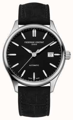 Frederique Constant Classic Index 40 mm Black Leather Strap FC-303NB5B6