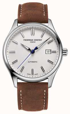 Frederique Constant Classic Index Automatic 40 mm Brown Leather FC-303NS5B6