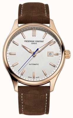Frederique Constant Classic Index Automatic Rose Gold-Plated Case FC-303NV5B4