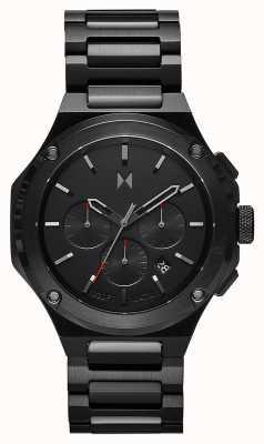 MVMT Raptor Molten Black Stainless Steel Bracelet 28000149-D