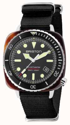 Briston Diver Pro Acetate Black NATO Strap 21644.SA.T.1.NB