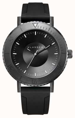 Klasse14 Volare Taras Dark 44mm Black Silicon Strap WVT19BK001M