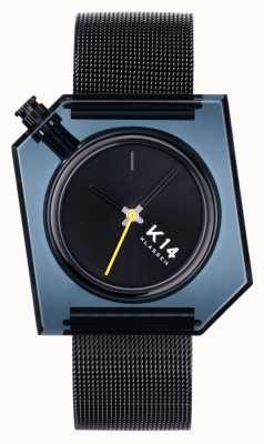 Klasse14 K14 Dark 40mm Black Milanese Mesh Bracelet WKF20BK001M