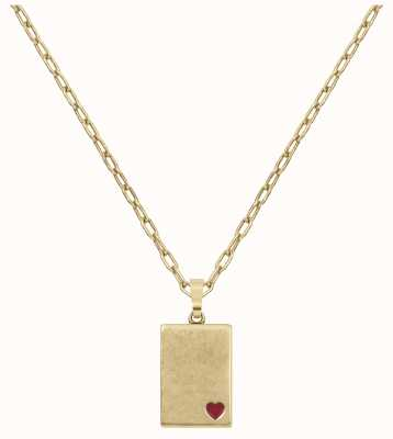Radley Jewellery Love Letters Gold-Plated Locket Necklace RYJ2188S