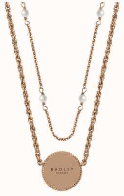 Radley Jewellery Love Radley Layered Necklace Disc Pendant RYJ2304S