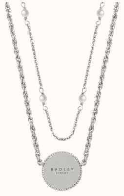 Radley Jewellery Love Radley Layered Necklace Disc Pendant RYJ2305S