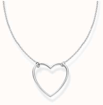 Thomas Sabo Charm Club   Sterling Silver   Heart   Necklace KE2138-001-21-L45V