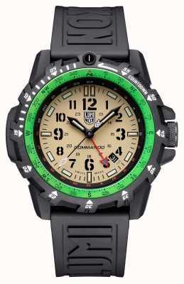 Luminox Commando Raider   Sand Dial   Black Silicone Strap XL.3321