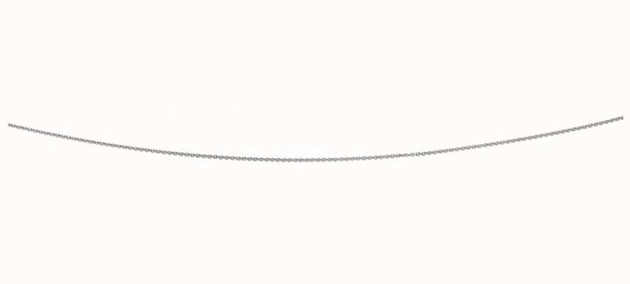 Elements Silver Silver Rhodium Plated 24inch Chain N3911