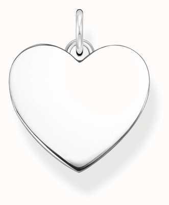 Thomas Sabo Plain Sterling Silver Heart Pendant Only PE926-001-21