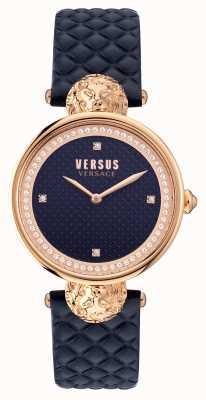 Versus Versace Versus South Bay Quilted Blue Strap VSPZU0321