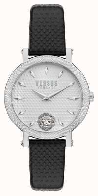 Versus Versace Versus Weho Black Leather Strap Watch VSPZX0121